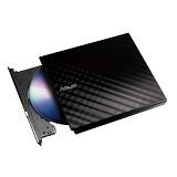 ASUS External Slim DVD Drive [SDRW 08D2S-U LITE] - Black - Dvd External